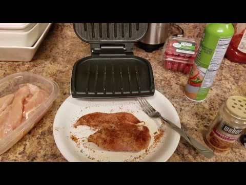 Easy way to cook chicken on the go!