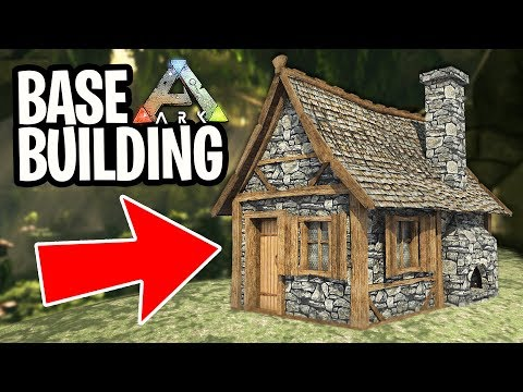 ARK: Survival Evolved - NEW BASE BUILDING!! (ARK Aberration)