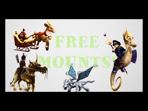 How to get FREE Mounts in Wizard101