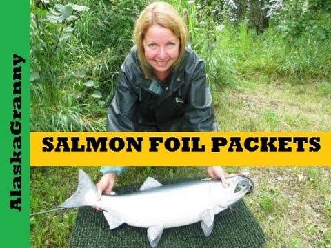 Easy Salmon Foil Packet Recipe