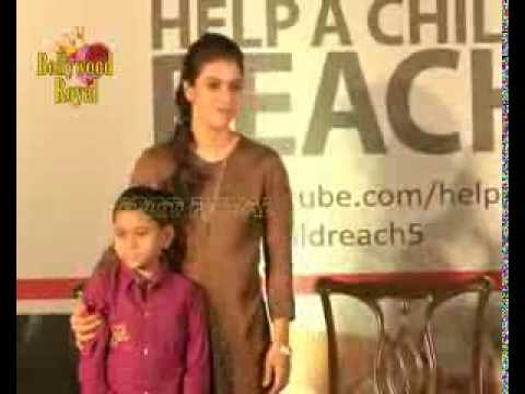 Kajol supports the campaign 'Help A Child Reach 5'  1
