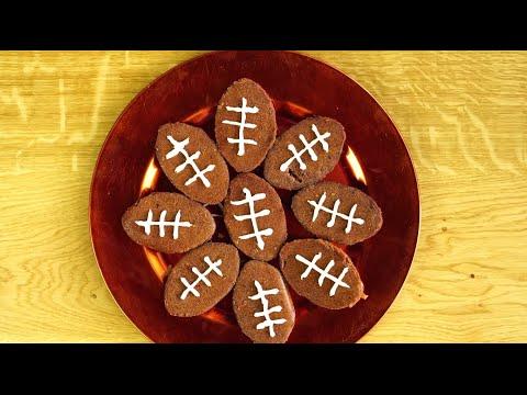 Football Brownies - DIY$ by Perk
