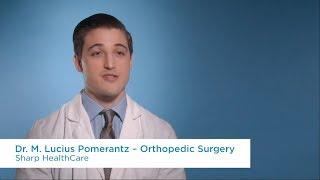 Dr. M. Lucius Pomerantz, Orthopedic Surgery