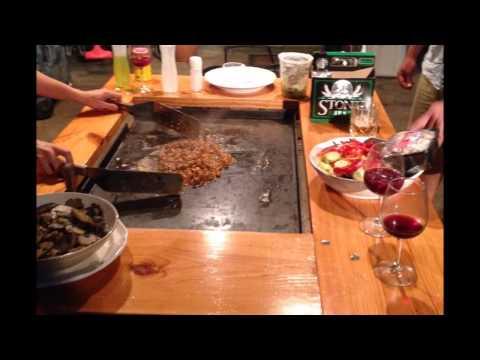 Backyard Hibachi Grill