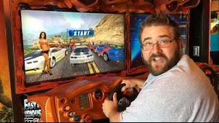 FAT AND THE FURIOUS HILARIOUS ARCADE GAME PLAY