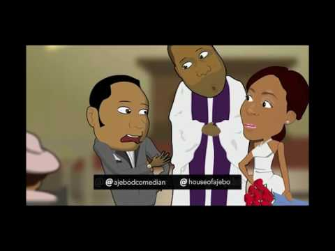 Comedy - Ajebo - The Wedding [Animated - Skit ] Cover