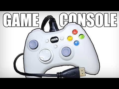 Turning a Controller Into a Game Console