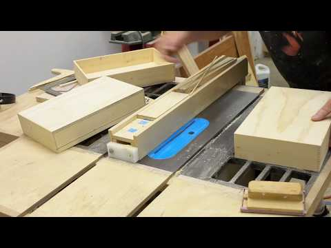 Making A Console / Accent Table - Part 6 - Free Woodworking Course