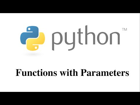 Functions with Parameters in Python [HD 1080p]