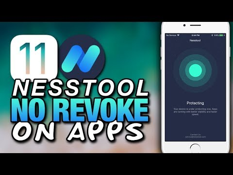 STOP APPS From Being REVOKED On iOS 11 With Nesstool - No More Revoked Certificates
