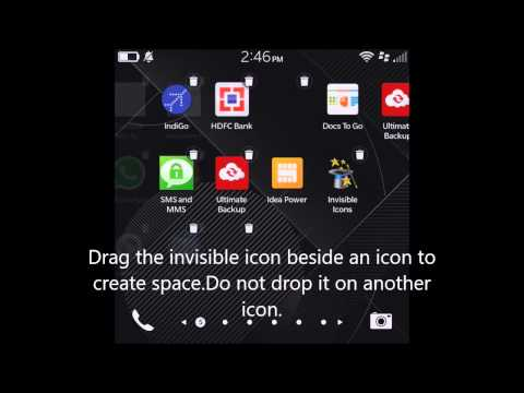 Invisible Icons for BlackBerry 10