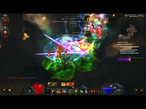 Diablo 3: The Diversity Of Uncommon Builds (Team 11/12 Grift 55 v2.4.0)