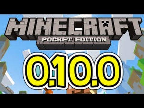Minecraft PE - 0.10.0 build 1 - informace