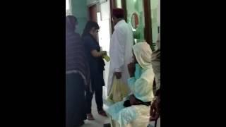 Civil hospital karachi ....  Senior lady doctor of gayni ward...