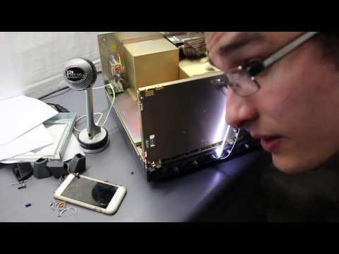 Oscilloscope LCD Display Repair for LeCroy DDA-125