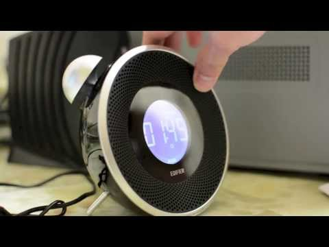 Retro High Tech Clock! - Edifier Tick Tock Bluetooth Alarm Clock - iPhone, iPad & iPod - Review