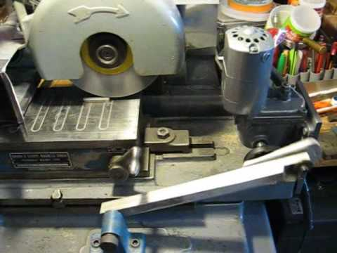 Home made Surface Grinder auto feed