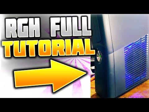 XBOX RGH/JTAG FULL TUTORIAL GUIDE! (Xbox Modding)::