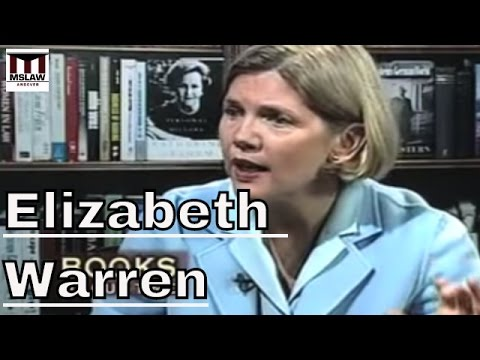 Elizabeth Warren - The Two Income Trap And The Collapse of Middle Class America