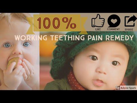 Homemade Remedy for baby teething pain in Urdu/Hindi