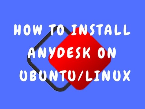 ANYDESK-How to Install anydesk on Ubuntu Linux || remote access software || Anydesk on linux,Mint