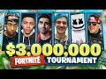 3000000 FORTNITE Pro Am Ft Vikkstar Marshmello Lachlan Ninja Ali A More