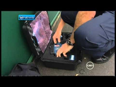 Queensland's new hand held speed camera