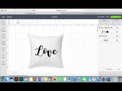 How To Do a Mockup in Cricut Design Space