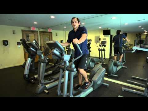 How to Use Gym Elliptical Machines for Flat Abs & Firm Buttocks : Pro Workout Tips