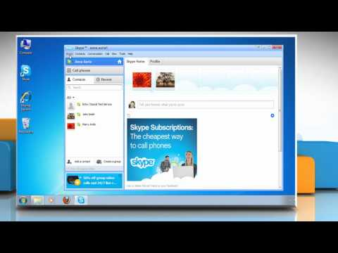 How to Change Skype® Password
