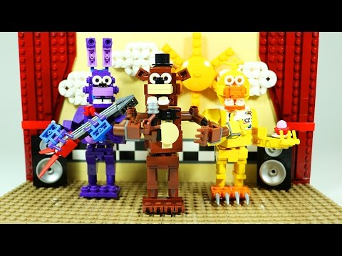 How To Build LEGO FNAF Show Stage | LEGO Five Nights at Freddy's custom set