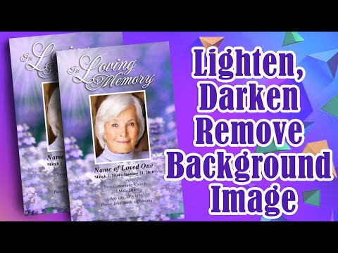 How To Lighten, Darken, or Remove Background Images in Microsoft Word 2007, 2010 or up