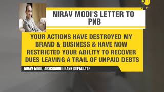 Nirav Modi refuses to pay PNB, miffed with bank for exposing scam in media