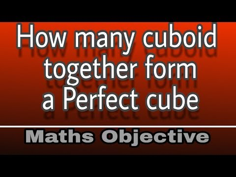how to find no. of cuboids in a cube