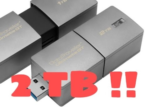 The Highest Capacity USB Drive in the World !!