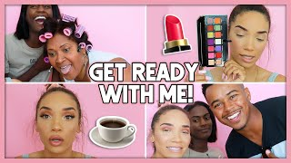 *CHAOTIC* Get Ready With Me! (Life Update + Special Guests!)