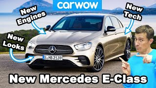 New E-Class - the MOST hi-tech Mercedes EVER!