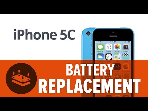 How To: Replace the Battery in your iPhone 5c