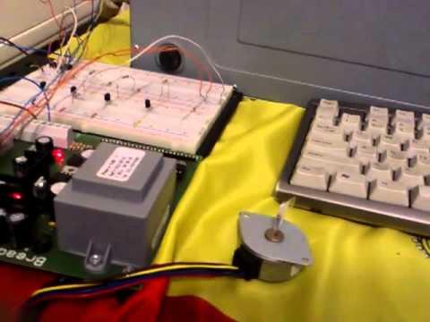 Controlling 1 Stepper Motor
