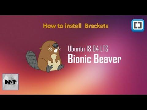 How to Install Brackets on Ubuntu 18.04