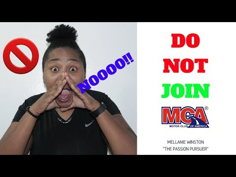 MCA Motor Club Of America 2018 | MCA Rep WARNS DO NOT JOIN MCA!!!