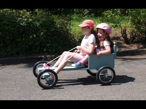 Child's Wooden Go Kart - Easy to Make