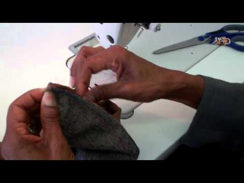 Attaching  a Cuff to a sleeve