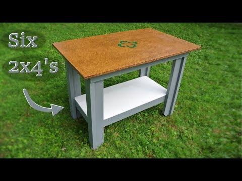 T-leg workbench design & build (½ hour special!)