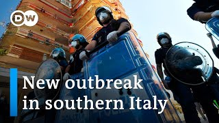 Tensions flare in Italy as coronavirus spreads among migrant workers | DW News