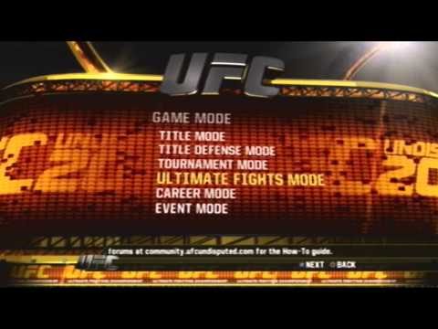 UFC Undisputed 2010::Testing The Waters-Achievement Guide