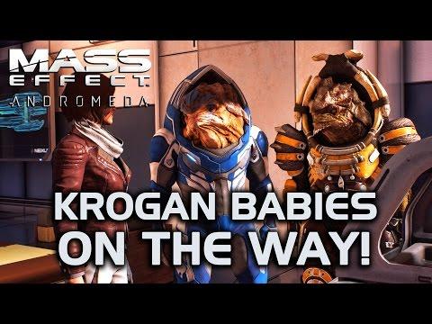 Mass Effect Andromeda - Krogan Babies on the Way!
