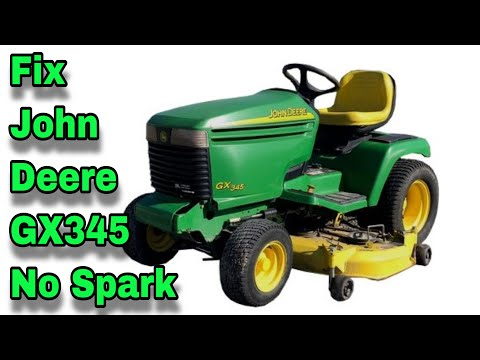How To Fix No Spark On A John Deere GX345, 345, 425 & 445 Models - with Taryl - The Curse