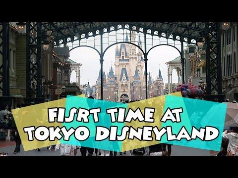 TOKYO DISNEY TRIP | First Time at Tokyo Disneyland | Day One Part One