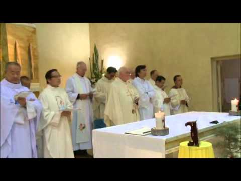 sr Thuy-Linh's Final Profession - Litany and vows.wmv